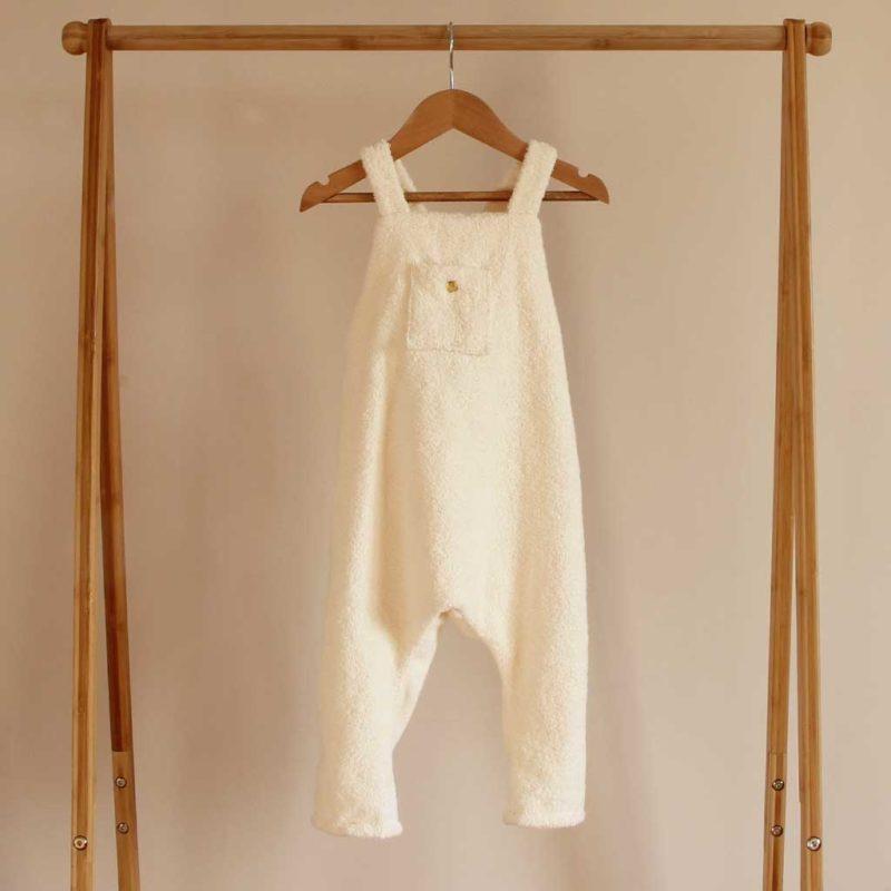 salopette bébé coton bio