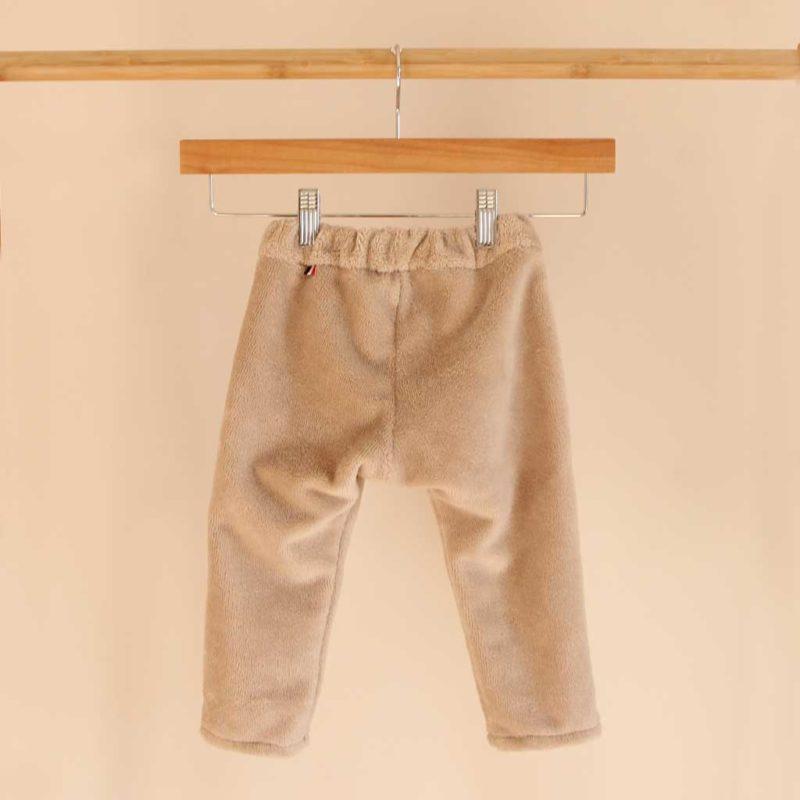 Pantalon enfant beige galet