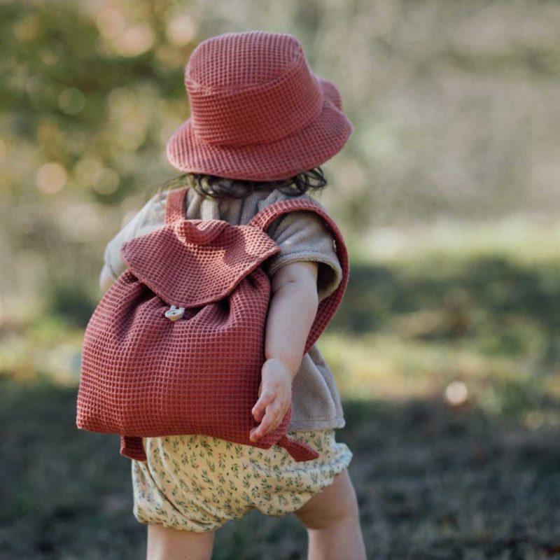 sac à dos bébé fabriqué en France rosewood